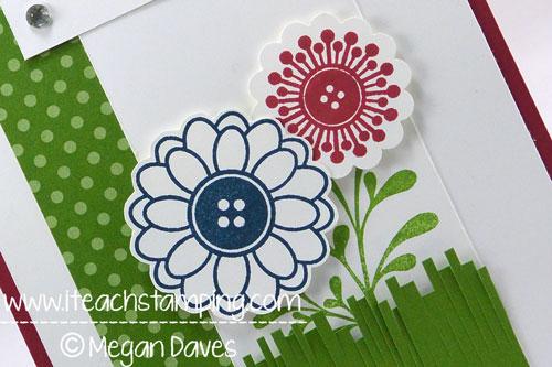 Fun and Bright Hand Made DIY Greeting Card