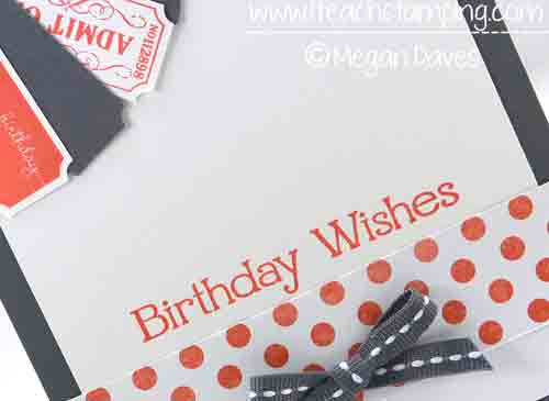 Need a Clean & Simple Birthday Card Idea?