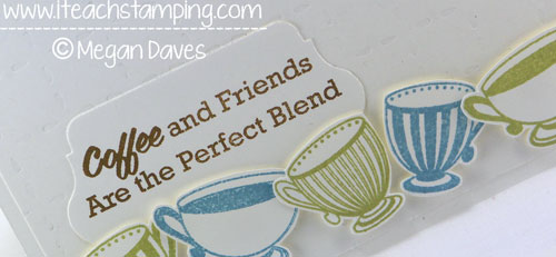 A Great Hand Made Card Idea for A Coffee Loving Friend
