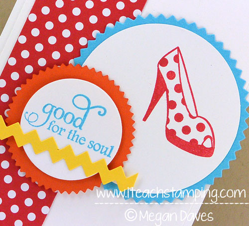 Using Starburst Framelits for a Simple Greeting Card Idea