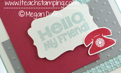 Want an Easy Hand Made Card Idea for a Friend?