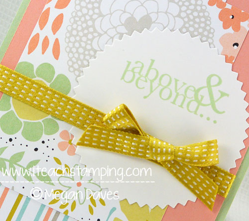 DIY Card Making:  How to Make a Thank You Card