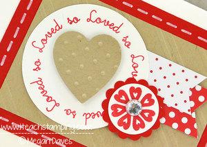 DIY Card Making:  My Valentine's Day Card