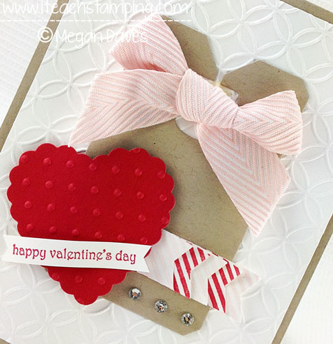 DIY Card Making:  How to Make a Valentine's Day Card