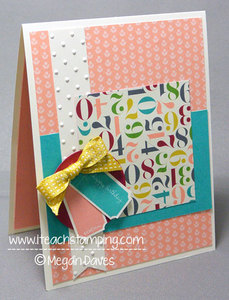 Making a Simple Birthday Card {Video Tutorial}
