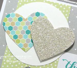 How to Make a Quick Thank You Card Using the Happenings Card Kit