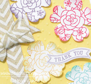 Chevron Ribbon with So Very Grateful From Stampin' Up!