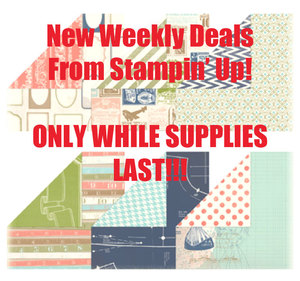 New Weekly Deals with Stampin' Up!