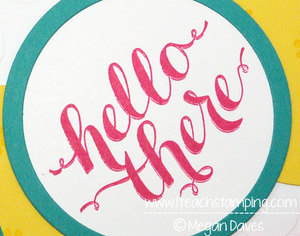 Stampin' Up!'s Hello There – Hostess Set From Stampin' Up! – Video Tutorial