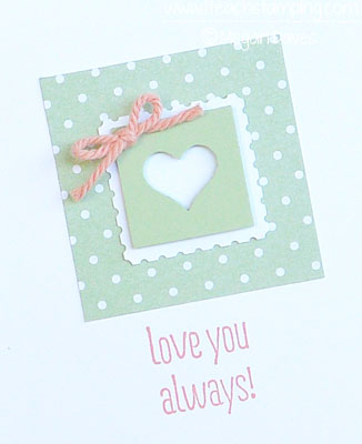 Something to Say from Stampin' Up!'s New Catalog