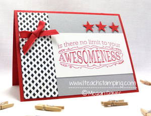 How to Make a Handmade Card using Big News from Stampin Up – Video Tutorial