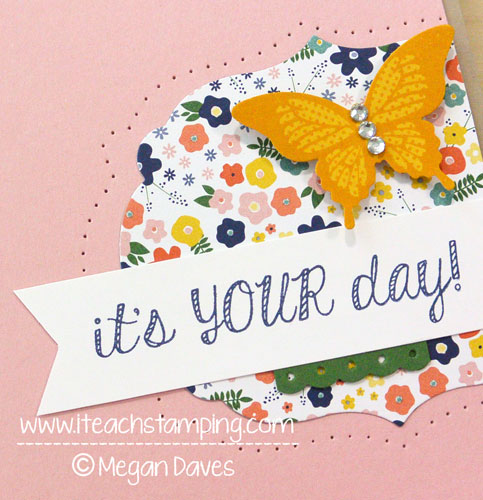 New Card Making Video Tutorial:  Fabulous Four {Stampin' Up!}