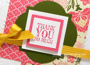 How to Make A Thank You Card – Paper Craft Ideas