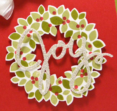 New Friday Flip Video Using Wondrous Wreath from Stampin' Up!