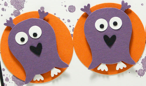 Using Stampin' Up's Owl Punch for Monster Punch Art – The Friday Flip