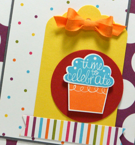Friday Flip Video Tutorial Using Cupcake Party from Stampin' Up!