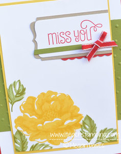 Mixing Stippled Blossoms with Sweet Stuff from Stampin' Up!