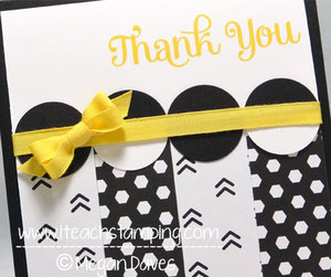 How to Make a Quick Thank You Card (Paper Crafts Ideas)