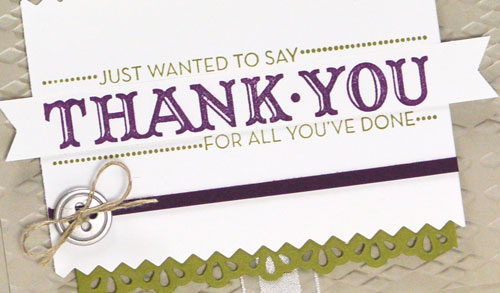 Did You See This Friday Flip on Making a Handmade Thank You Card?