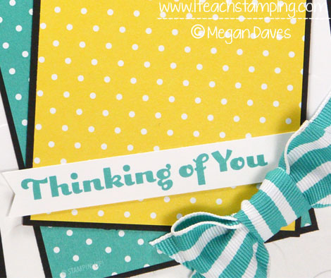 Paper Crafts Ideas: Using Four You From Stampin' Up!