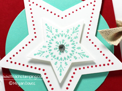 Making a Christmas Card with Stars – Paper Crafts Ideas
