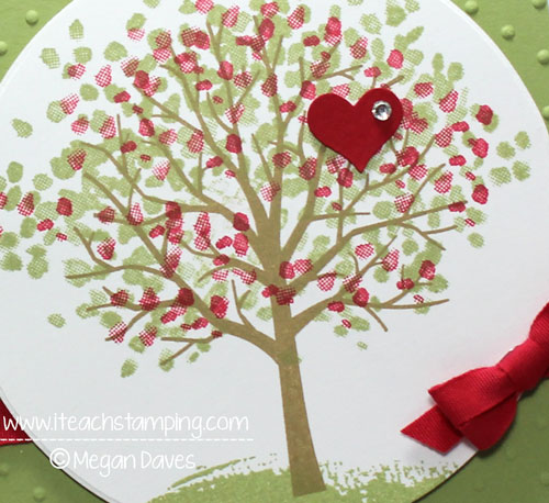 DIY Card Making:  Using Sheltering Tree to Hug a Friend