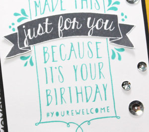 Design Your Own Birthday Card Using Balloon Bash (Stampin' Up!)