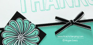 Creating Doodle Flowers with Stampin' Up Stamps
