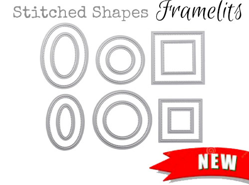 Stitched Shapes Framelits From Stampin Up