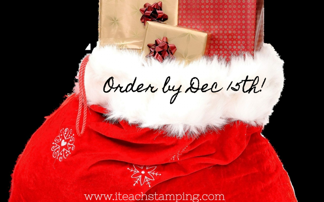 Want Stamps In Your Stocking This Year?