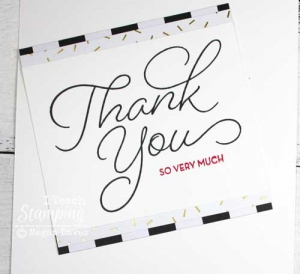 Making Easy Thank You Cards