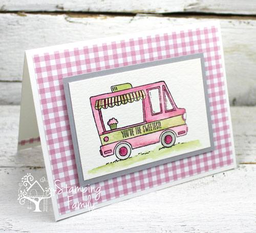 Sweet Handmade Cards Using A Stamping Family Color Inspiration