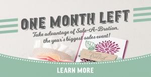 Last Month of Sale-A-Bration!