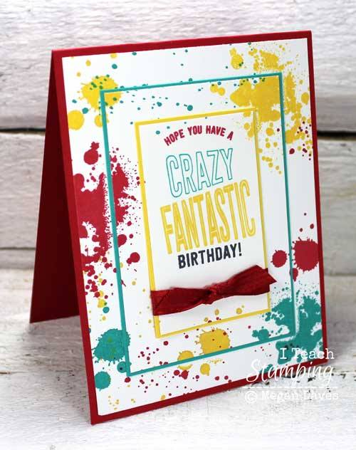 I Teach Stamping Card Making Ideas
