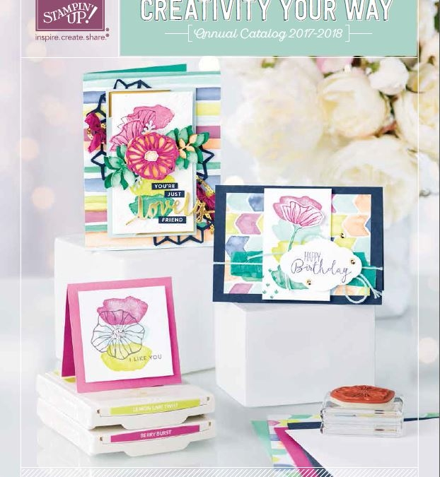 My Top Ten Favorite New Stampin' Up! Products!