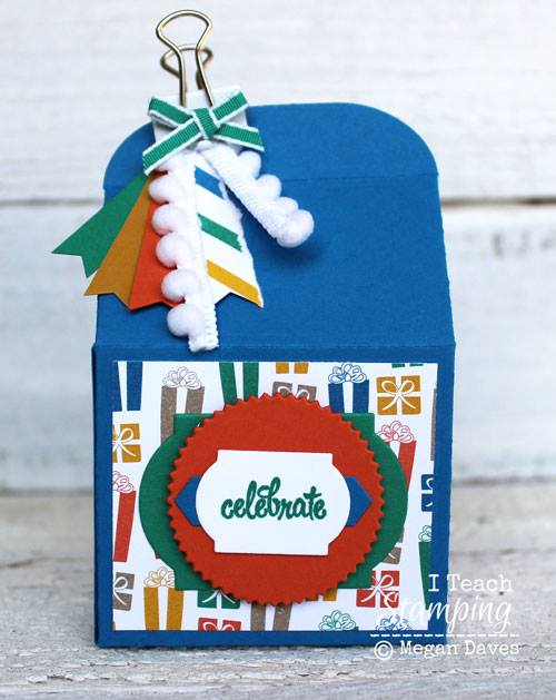 Make a bunch of quick and cute stampin up treat boxes