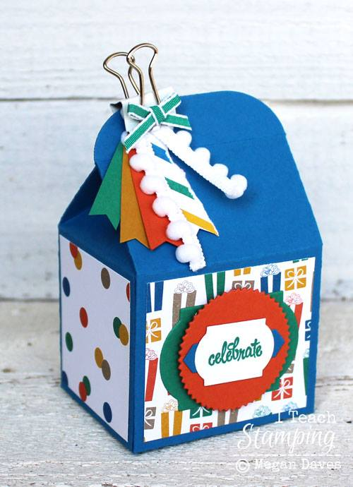 Make Some Cute Stampin' Up! Treat Boxes!