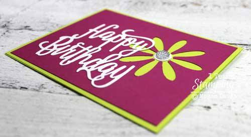 Back in stock - the super cute Stampin' Up! Daisy Paper Punch