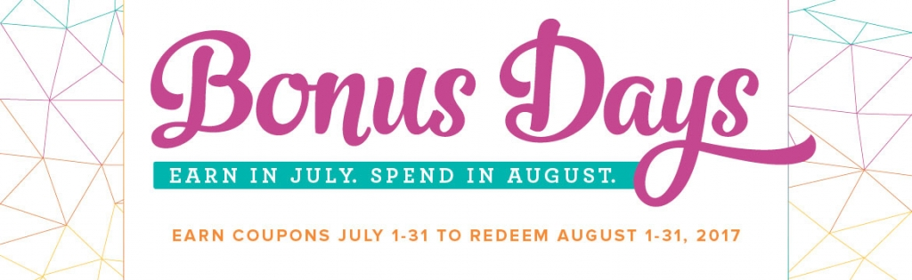 Bonus Days Stampin' Up! Style