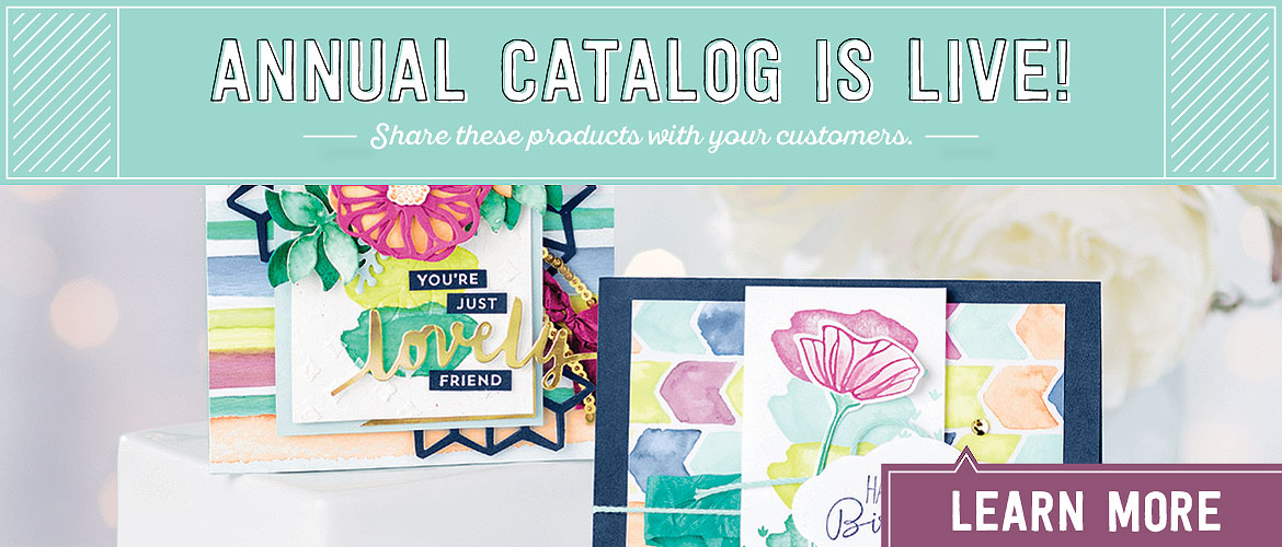 The Stampin' Up! Catalog 2017 is a HIT!