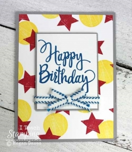 How To Make Fancy Background Paper With Stamps