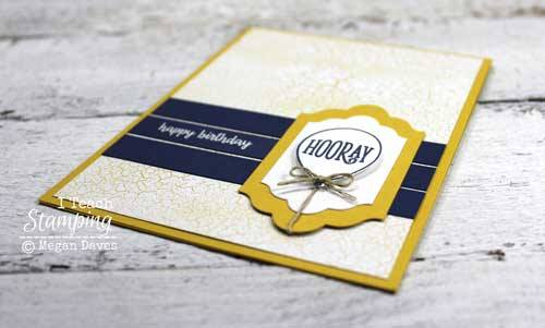 how to heat emboss on cards to add detail