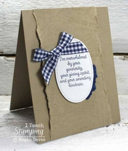 Easy Thank You Cards To Make Using Just a Few Supplies