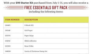 FREE Bonus Kit and FREE Rubber Stamps Free Shipping Included!
