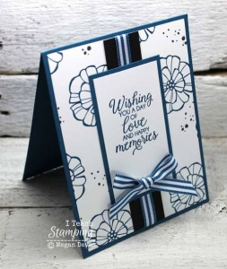 Using a Monochromatic Color Scheme On a Card