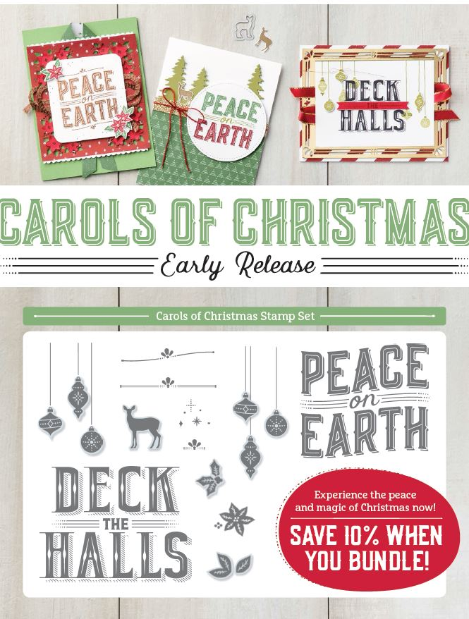 Early Christmas From Stampin' Up! Page 1