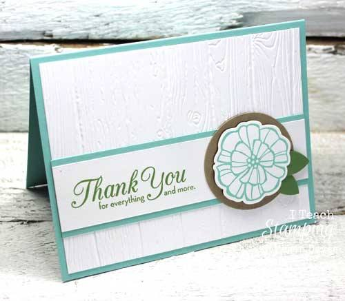 I am totally in love with my new stampin up dynamic embossing folder