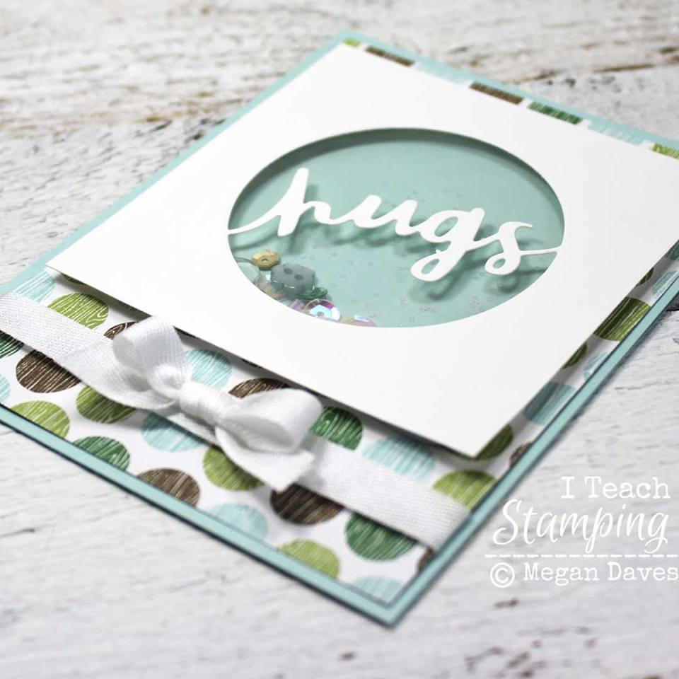 Learn how to make a shaker card with a free video