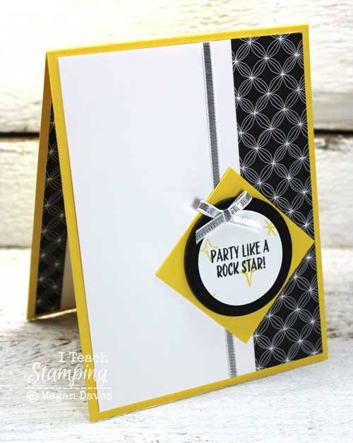 Party like a rock star with simple handmade cards for birthday celebrations