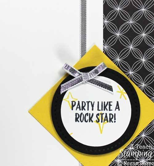 simple handmade cards for birthday people who want to party like a rock star!
